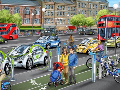 WISE-ACT | Evaluación de impactos y escenarios del transporte autónomo y conectado