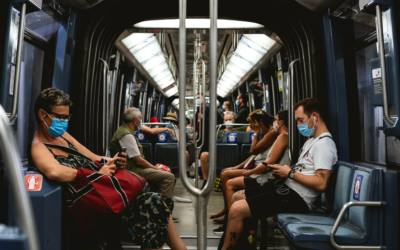 Public transit is safe with regards to COVID, a study found for NYC